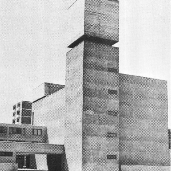 Architecture (here as example St. Agnes in Berlin)