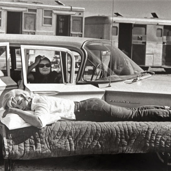 Marilyn Monroe - 'The Misfits, by Eve Arnold: