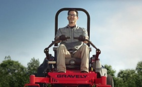 "Gravely ""Built to Mow the Distance"""