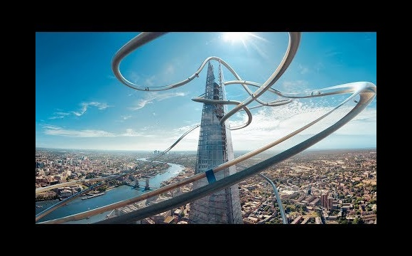 'The Slide' VR Experience for The View from The Shard