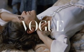 THE PAINTING with ELISA SEDNAUOI for VOGUE ITALIA / TORY BUTCH dir. BOLDIZSAR CR
