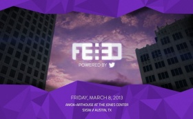 "#FEED powered by Twitter: Day 1 - ""Generating Synchronicity"""