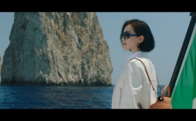 "Tod's : : Liu Shishi in ""A treasure hunt"""