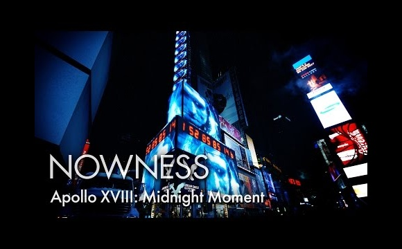 """Apollo XVIII: Midnight Moment"" by Marco Brambilla"