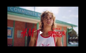 Dacre Montgomery for H&M x 'Stranger Things' Collaboration