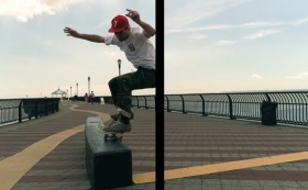 Michael Wong | Acapulco Gold | Spring/Summer Collection 2017 featuring famed skater, Leo Gutman